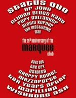 Marquee Club: 25th Anniversary of the Marquee Club