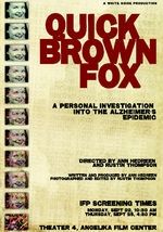 Quick Brown Fox: An Alzheimer's Story
